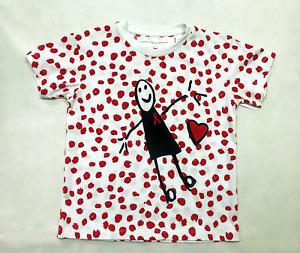 Victoria Beckham World Aids Day T-Shirt Kids Size 5-6 Years Old