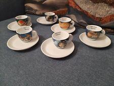 Set da Collezione Tazzine Piattino Ancap Planetarium Espresso