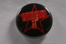 Turkish RedHack Communist Computer Hacker Terrorist Turkey Button Badge 1""
