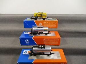 Roco H0 Güterwagen Kesselwagen der CSD/CD 3 Stück in OVP M19