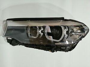 17 18 19 BMW 5 Series G30 G31 G38 Xenon Headlight Left Driver 7476729-02