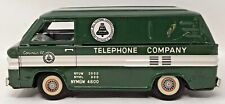 Vintage Chevrolet Corvair 95 Bell Telephone Company Tin Toy Van 1069 Friction