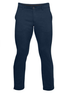 Under Armour Men Taper Golf Navy Blue Pants Size 30x34 Storm Water Repellent NWT