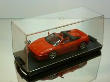 BANG FERRARI  F355 F1 SPIDER - RED 1:43 - EXCELLENT IN SHOW-CASE