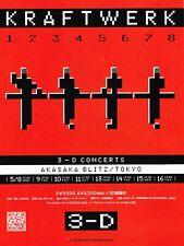 """Kraftwerk in japan 16"""" x 12"""" Repro concert Poster"""