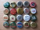 20 DIFFERENT THINGS WITH HORNS TUSKS ETC THEMED BEER BOTTLE CAPS