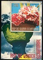Equatorial Guinea #MiBl245 MNH S/S CVEUR7.00 African Flowers