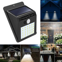 30 LED Solar Power Light PIR Sensor Security Lamp Outdoor Garden Waterprooof