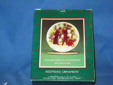 Hallmark/Collector'S /Plate~Light/Shines/At/Chr istmas! (Dated~1987)In~Box! Cute!