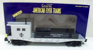 American Flyer 6-48723 S Scale Santa Fe Crane Boom Car #206982 NIB