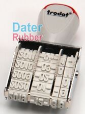 5mm Stamp Rubber Mini Small Dater number Year Month Date ink pad 0.5cm