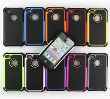 Wholesale 100x Heavy Duty Hybrid Rugged Hard Case Cover For Apple iPhone 4G/4s