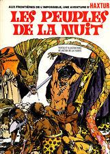 UNE AVENTURE D'HAXTUR: LES PEUPLES DE LA NUIT (1974)