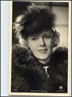 DDR Postkarte Kino Bühne Ross-Verlag  Schauspielerin AK Charlotte Susa