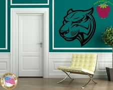 Wall Stickers Vinyl Decal Tiger Panther Tribal Rage Animal Nature ig783