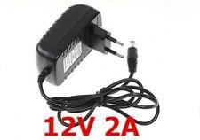 AC-DC chargeur adaptateur secteur universel 12 V-2 A 110-240V 50/60Hz