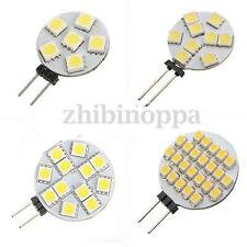 10X G4 6/9/12/24 LED 5050/3528SMD Pure/Warm White RV Boat Light Lamp    W T H