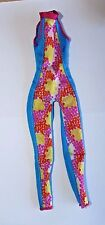 Barbie doll 1 piece bodysuit jumper skier gymnastics clothes Mattel