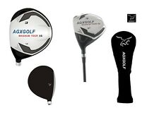AGXGOLF SENIOR MENS CADET (-1 INCH) MAGNUM 3 WOOD GRAPHITE SHAFT + HEAD COVER