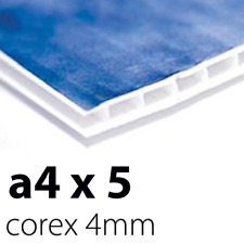 5 x Correx Sign Boards | 4mm A4 | Printed UV Full Colour