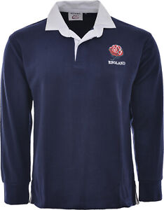 England Rugby Shirt Retro Classic Traditional English Top All Sizes S - 5XL