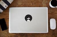 "Afro Man Vinyl Decal Sticker for Apple MacBook Air/Pro Laptop 12"" 13"" 15"""