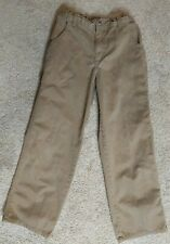 Gymboree Boys Size 8 Light Brown Carpenter style PantsMint Condition