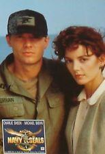 NAVY SEALS - Lobby Cards Set - Charlie Sheen, Michael Biehn, Bill Paxton