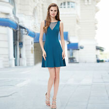 Mesh Casual Regular Size Mini Dresses for Women