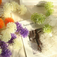 Dandelion Artificial Silk Fake Flower Wedding Bouquet Hydrangea Home Room Decor