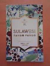 STARBUCKS 2015 - Series Reserve Tasting Card SULAWESI PANGO PANGO - NEW