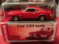 Auto World 1969 Pontiac Firebird Trans Am 1/64 scale NIB 2018 release