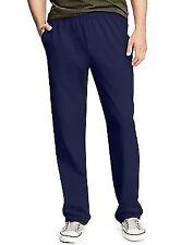 Hanes X-temp Men's Jersey Pocket Pant O5627 XL Navy