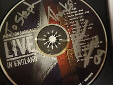 SIGNED COPY OF HAMILTON LOOMIS LIVE IN ENGLAND CD (2009) VGC L3
