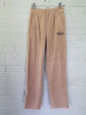 ADIDAS LOUNGE TERRY CLOTH PANTS SIZE SMALL IN TAUPE