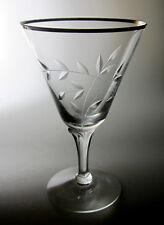 """Fostoria Bridal Belle 6072 (SET OF 4)  Water Goblets 6 3/8"""""""