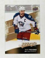 2017-18 Upper Deck MVP Base #37 Nick Foligno - Columbus Blue Jackets