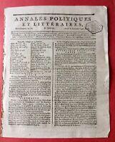 Santhonax 1797 Haïti Saint Domingue Bonaparte République Cisalpine Italie