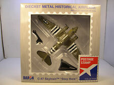 DARON WWII C-47 SKYTRAIN CARGO PLANE STOY HORA 1:144 SCALE DIECAST DISPLAY MODEL