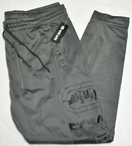 Ecko Function Jogger Pants Men's 2XL 2XB 2X Head Start Logo Grey Urban B&T Q694