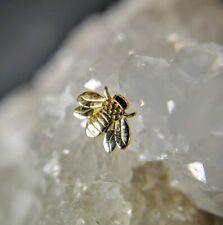 Helix 14ct gold conch LeRoi body jewelry lobe cartilage ear piercing tragus