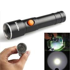 2500LM 3Modes CREE XML T6 LED Fit AA Akku Flashlight Stablampe Torch Taschenlamp