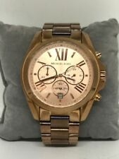 Michael Kors MK5503 Women's Watch Chronograph Analog 43mm Case Date Display C194