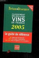Le Classement 2005 des meilleurs vins de France Broché