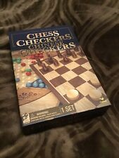 Game Gallery: 3 Games! Chess, Checkers, & Chinese Checkers! New Unopened!