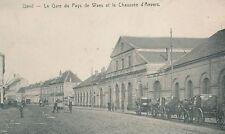 Reproduction photo d'une carte postale de la gare de Gand
