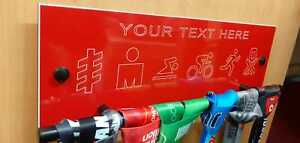 Medal Hanger engraved with your choice of text complete fixings & many colours