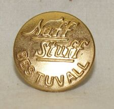 antique  1918 overall button Nuff Stuff never used