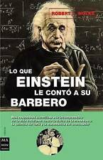 USED (VG) Lo que Einstein le contó a su barbero by Robert L. Wolke