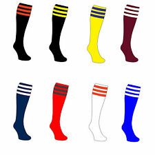Football Socks 3 Stripe Rugby socks , Sports socks Unisex rr£10